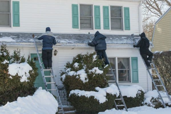 Snow Damage Repairs